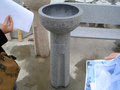 stone bird bath from Eastwood stone manufacturer