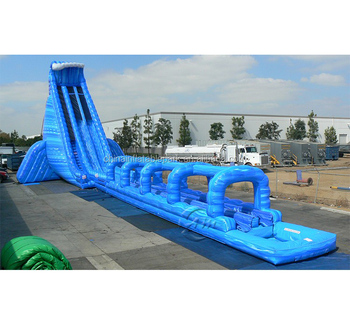 Hurricane Giant Inflatable Water Slide For Sale