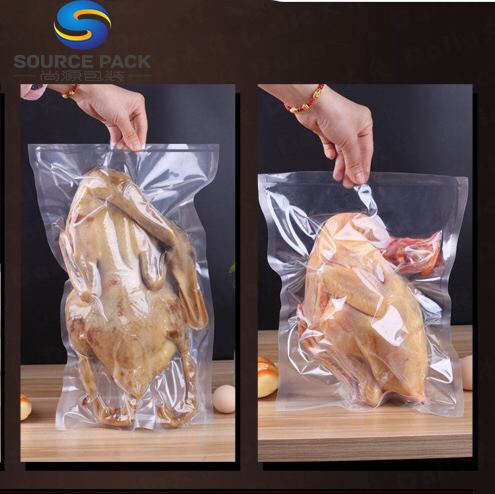 Transparent food grade vacuum sealer bag rolls vacuumpackaging bag plastic vacuum sealer bag/rolls for food
