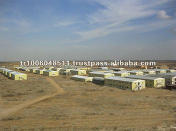 Prefabricated Labour / Worker camps built by Hekim Special Panel System.
