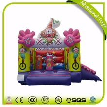 NEVERLAND TOYS inflatable bouncer castle, inflatable jumping bouncer,inflatable Clown Bouncer for kids