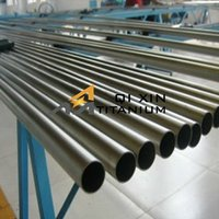 Discount top sell astm b338 gr1 titanium pipe