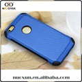 Case for iphone 6 for apple, custom carbon fiber leather mobile phone cases