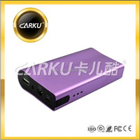 Fast charged battery charge power bank with USB output input external backup for mobile phone