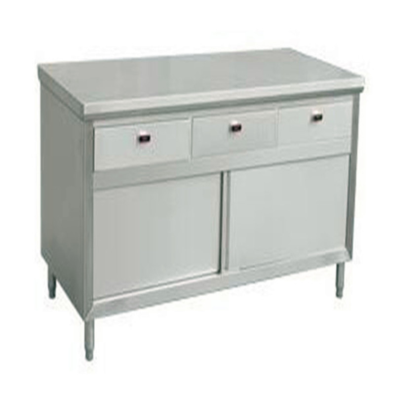 cheap price commercial inox storage cabinet stainless steel kitchen