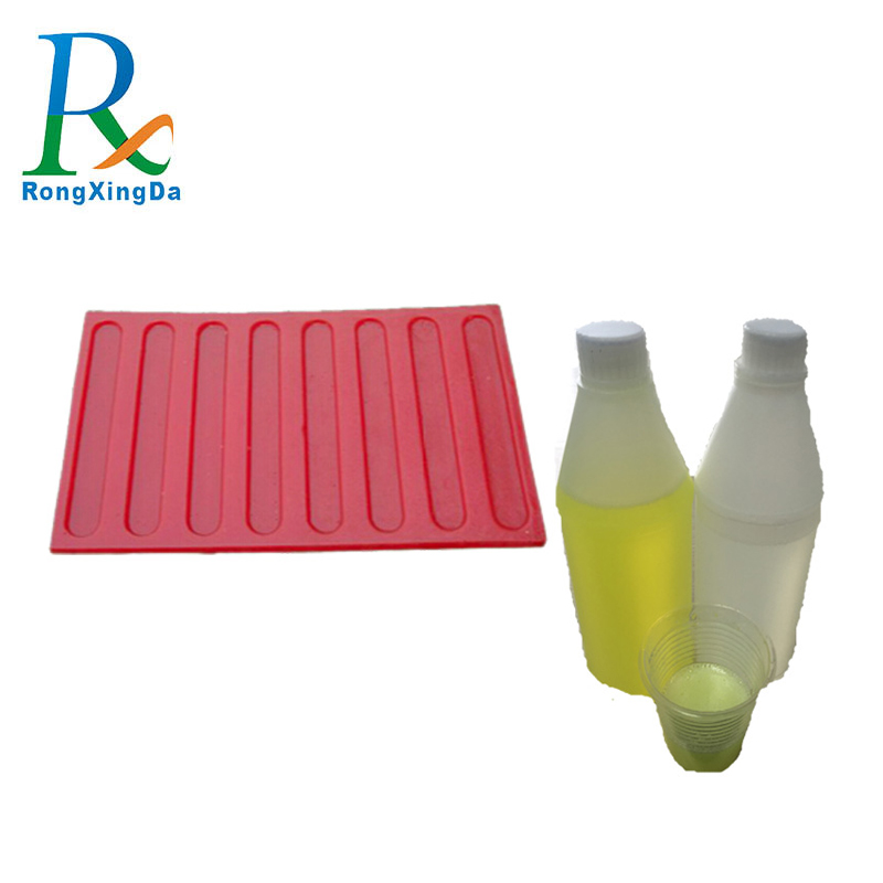 Polyurethane rubber liquid silicone rubber for stone mold making