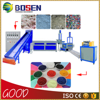 Pp Pe Waste Plastic Recycling Machine
