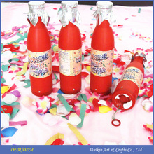 Cheap china factory price champagne bottle party popper