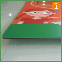 UV printing on aluminum composite panel