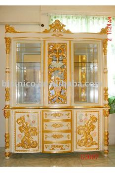 Luxury living room furniture,wooden wine cabinet, showcase, glass  cabinet,MOQ:1SET, View wine cabinet, BISINI Product Details from Zhaoqing  Bisini ...