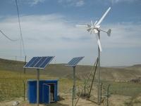 Factory sale 2kw +5kw complete wind solar hybrid power system, 2kw solar with 5kw wind turbine, solar wind power combine system