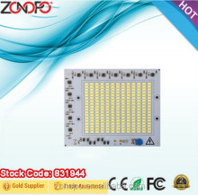 100w economy high power aluminum spot light led driver on board smd2835 led flood light pcb