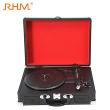 RHM old bluetooth vinyl record player with USB function