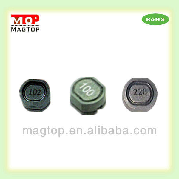 chip ferrite inductors 820uh custom inductor on PCB
