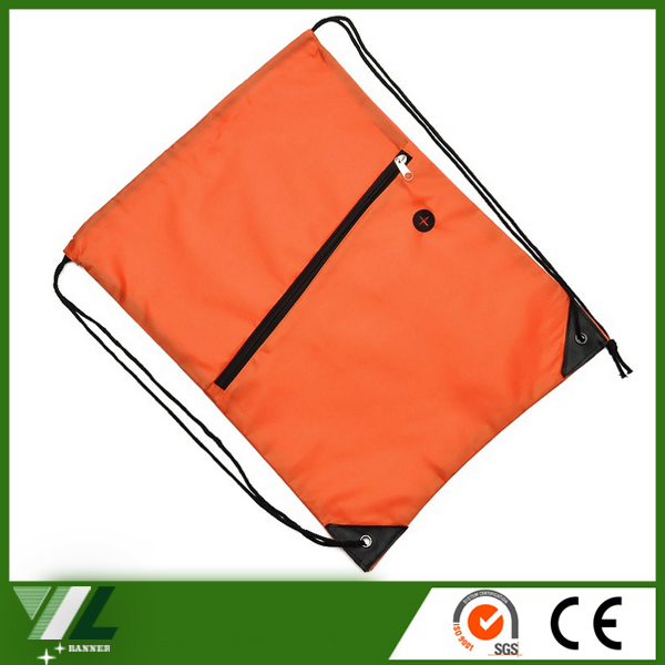 mesh nylon promo bag with zipper