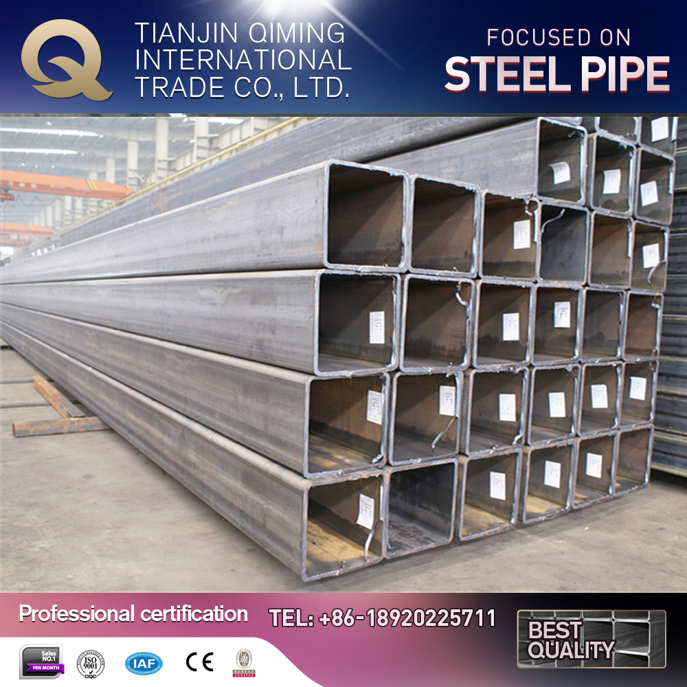 carbon steel pipeline/square hollow section steel pipe/metal tube connectors