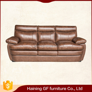 Best Price Mexico Style Modern Suede Genuine Leather Sofa Furniture