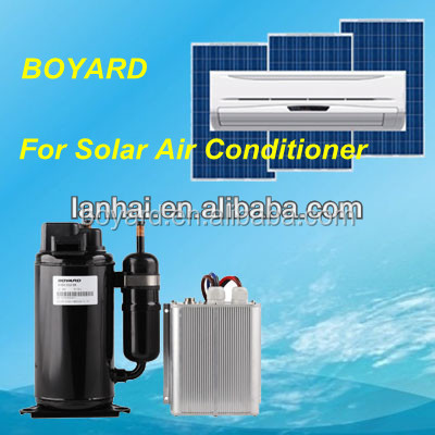 12 volt rv air conditioner in truck cab with boyard bldc rotary compressor China suppiler