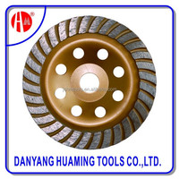 Jiangsu Turbo Cup Diamond Cutting wood Diamond Grinding Wheel