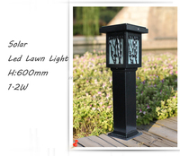 Outdoor wateproof H:600 2W Solar garden light factory direct supply