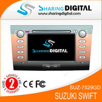 7 inch car dvd player for suzuki swift (2004-2010) with gps navigation system
