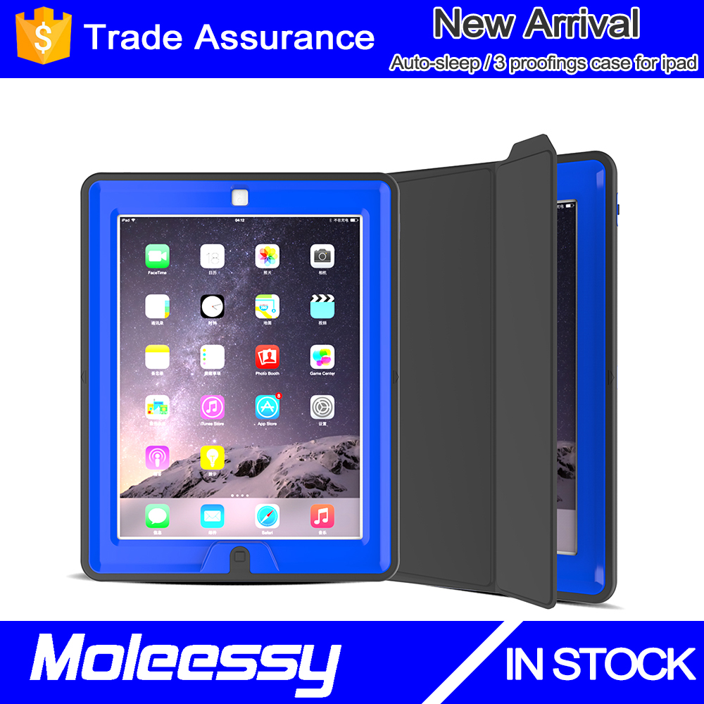 Factory supplier for sale shock proof kids 9.7inch tablet case for ipad 4/3/2