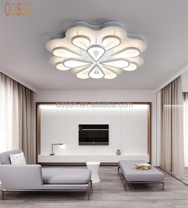 creacin del pavo real de acrlico moderna lmpara de techo de diseo de niza decoracin dormitorio