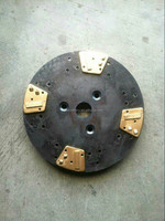 1, rectangle 2 pcd segments diamond grinding disc or stone for concrete from pcd tool