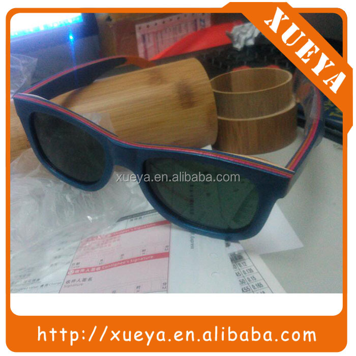 dropshipping wholesale 2017 new polarized wooden sunglasses
