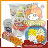 china quality fruits bubble gum in can