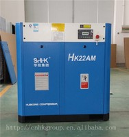 Energy saving and cost effective 22kw screw air compressor