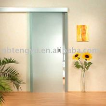 Aluminium Alloy Auto Large Elegant Glass Sliding Door