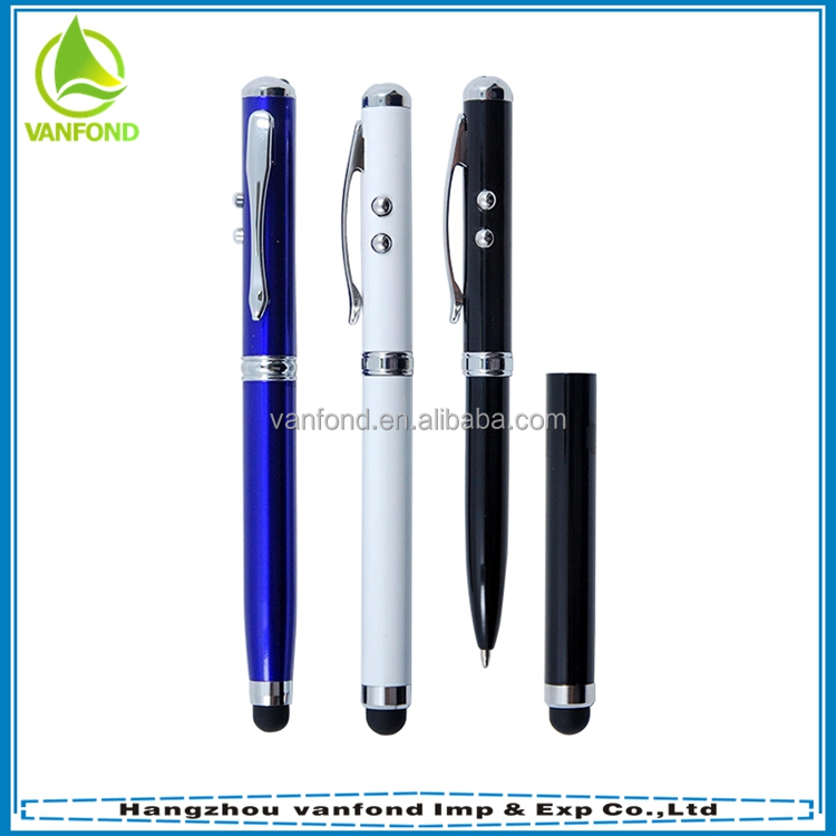 From China Pen Factory Promotional Powerful Laser Shock Pen for Office