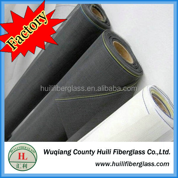 Fiberglass window screen for window with double security for window and doors