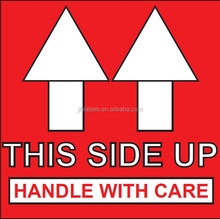 This Side UP Warning labels, Shipping Labels Stickers,2 x 2 500 labels/roll