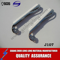 metal accessories for wallet/handbags parts /metal frame J107