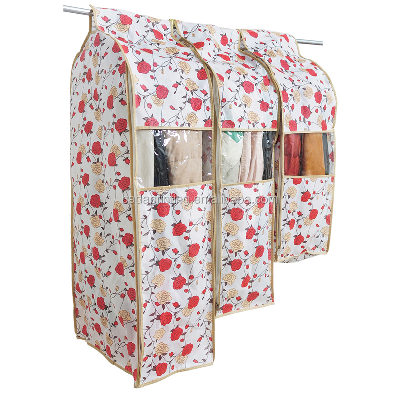 home clothing cover suit dust bag non-woven cloth bag suit garment bag