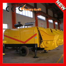 XINYU hot sale famous brand diesel small concrete pump with trailer