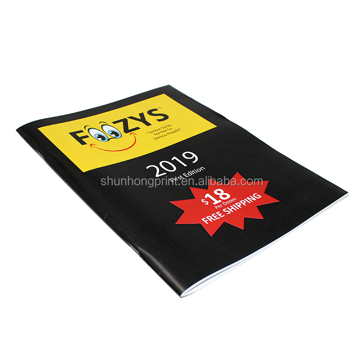 Factory price customized promotional company advertising paper catolog,business brochures