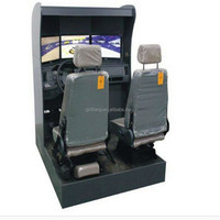 lifang new real car driving simulator/city car driving simulator