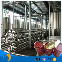 Tomato Juice Chemical Mixing Tank