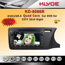 klyde 2 din touch screen android car dvd gps / audio / radio / stereo / multimedia with navigation system for honda city 2014