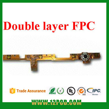 Yunjie PCB,Used for Consumer Electronics, Double-sided Flexible printed circuit with ACP, FPC