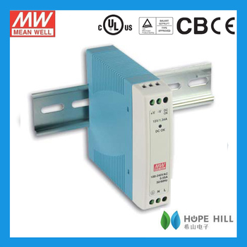Meanwell Din rail power supply MDR-10-12 Switching Power Supply 12V 0.84A/SMPS/PSU