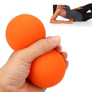 High Quality Massage Fitness Exercise Printing Custom Eco Friendly Rubber Lacrosse Ball