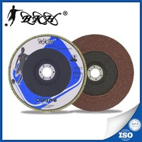180X22mm Aluminium oxide Abrasive 7inch flap disc for paint removal