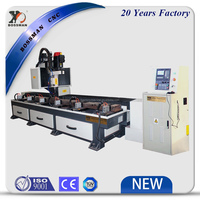 Bossman CNC drilling tapping and milling machine for square tube