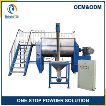 Dry Powder Making Horizontal Screw Ribbon Blender Mixer