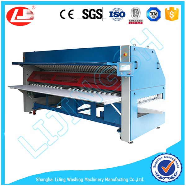 laundry sheet folder( automatic hotel laundry folding machine)