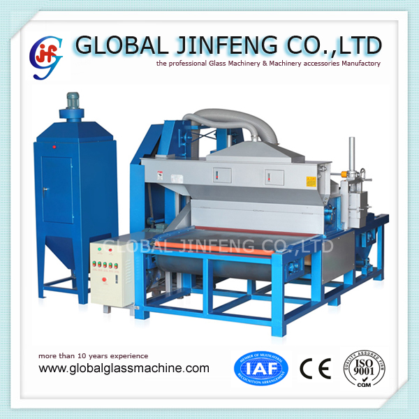 JFDS1300 horizontal Glass Automatic sandblasting machine Professional manufacturer